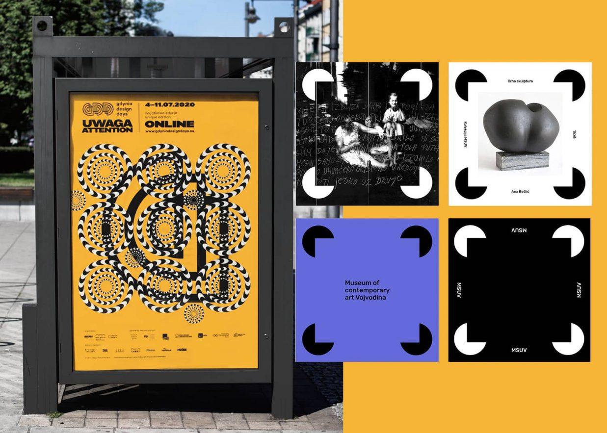 publicidad usando ilusiones opticas 1237x883 - 10 tendencias en diseño gráfico para un año muy esperado. ¡Bienvenido 2021!