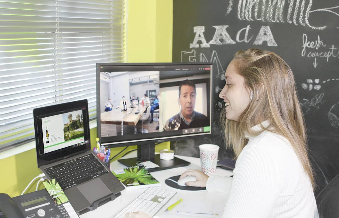 supervision ovento online 1371x883 - Evento online para mantener activa la relación con los distribuidores