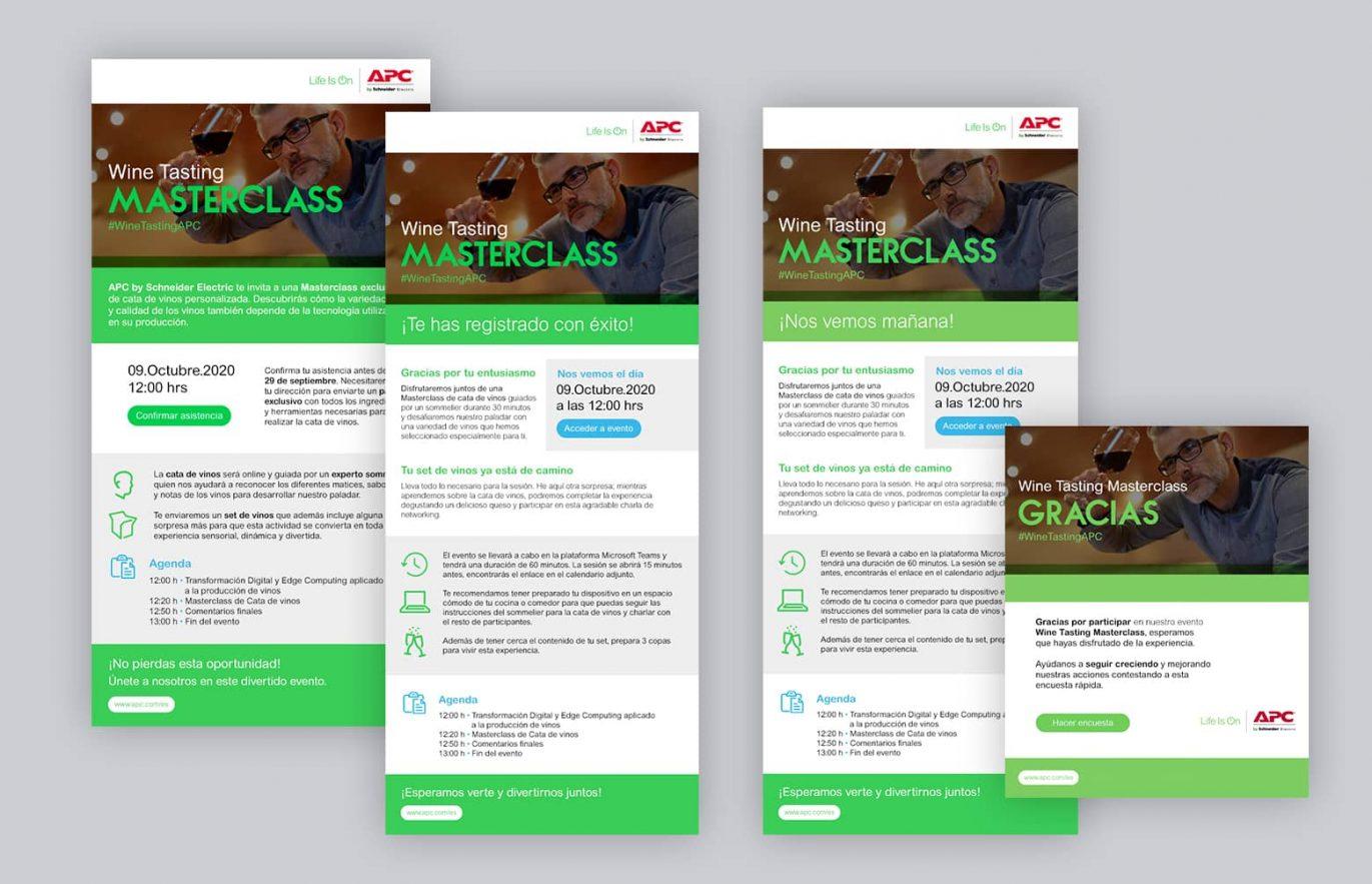 email marketing para evento online 1371x883 - Acciones online para reforzar acciones comerciales y de marca