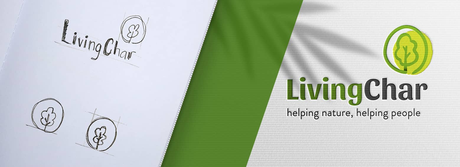 02 diseno de branding para biochar - Branding, estrategia y acciones y elementos corporativos para empresa del sector agrícola