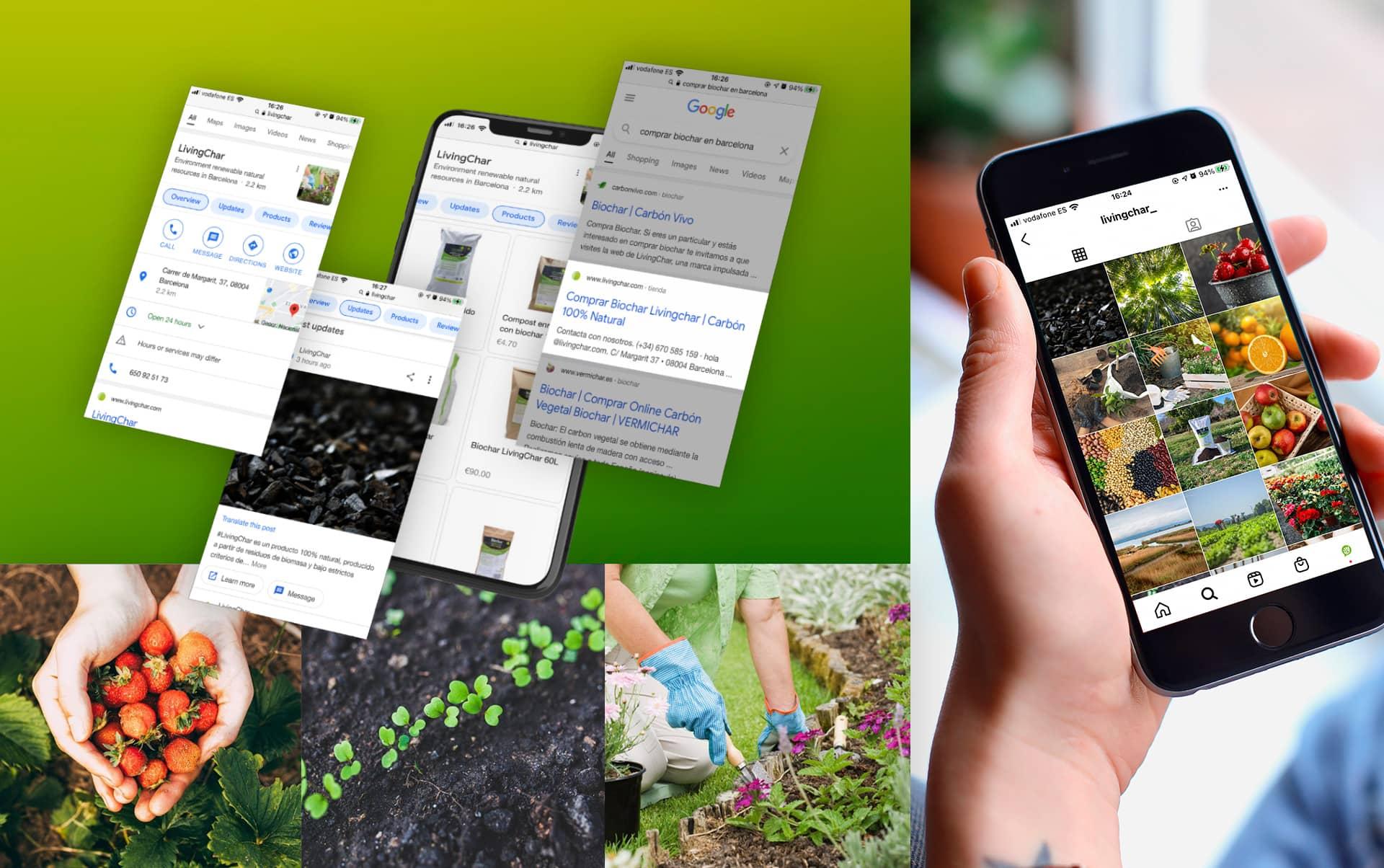 07 estrategia de redes sociales empresa agricultura - Branding, estrategia y acciones y elementos corporativos para empresa del sector agrícola