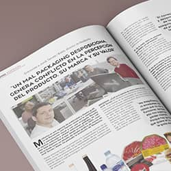 Entrevista para infopack revista lider en packaging - ¡Somos noticia en la revista Infopack!