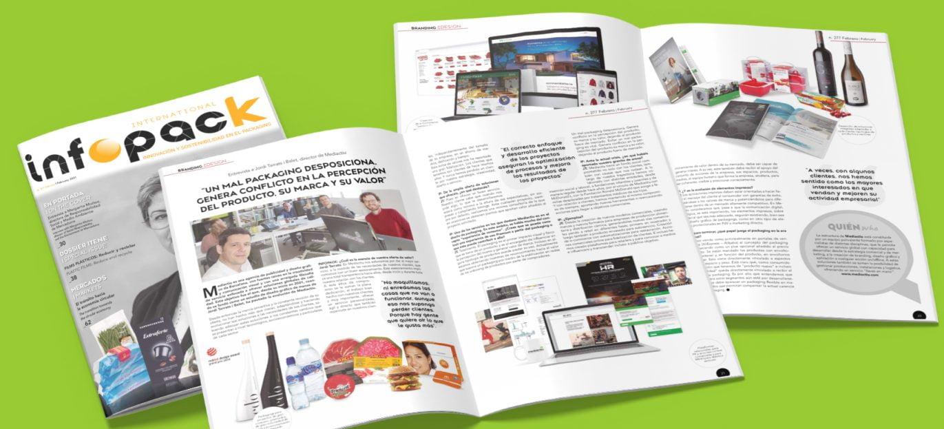 Mejor agencia de publicidad Barcelona 1371x623 - ¡Somos noticia en la revista Infopack!
