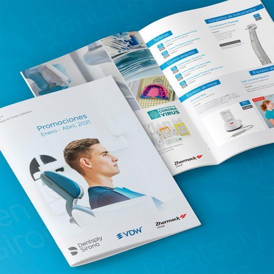 diseno catalogo barcelona 550x550 - Catálogos para sector odontológico