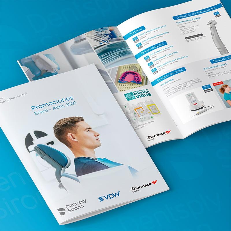 diseno catalogo barcelona - Catálogos para sector odontológico