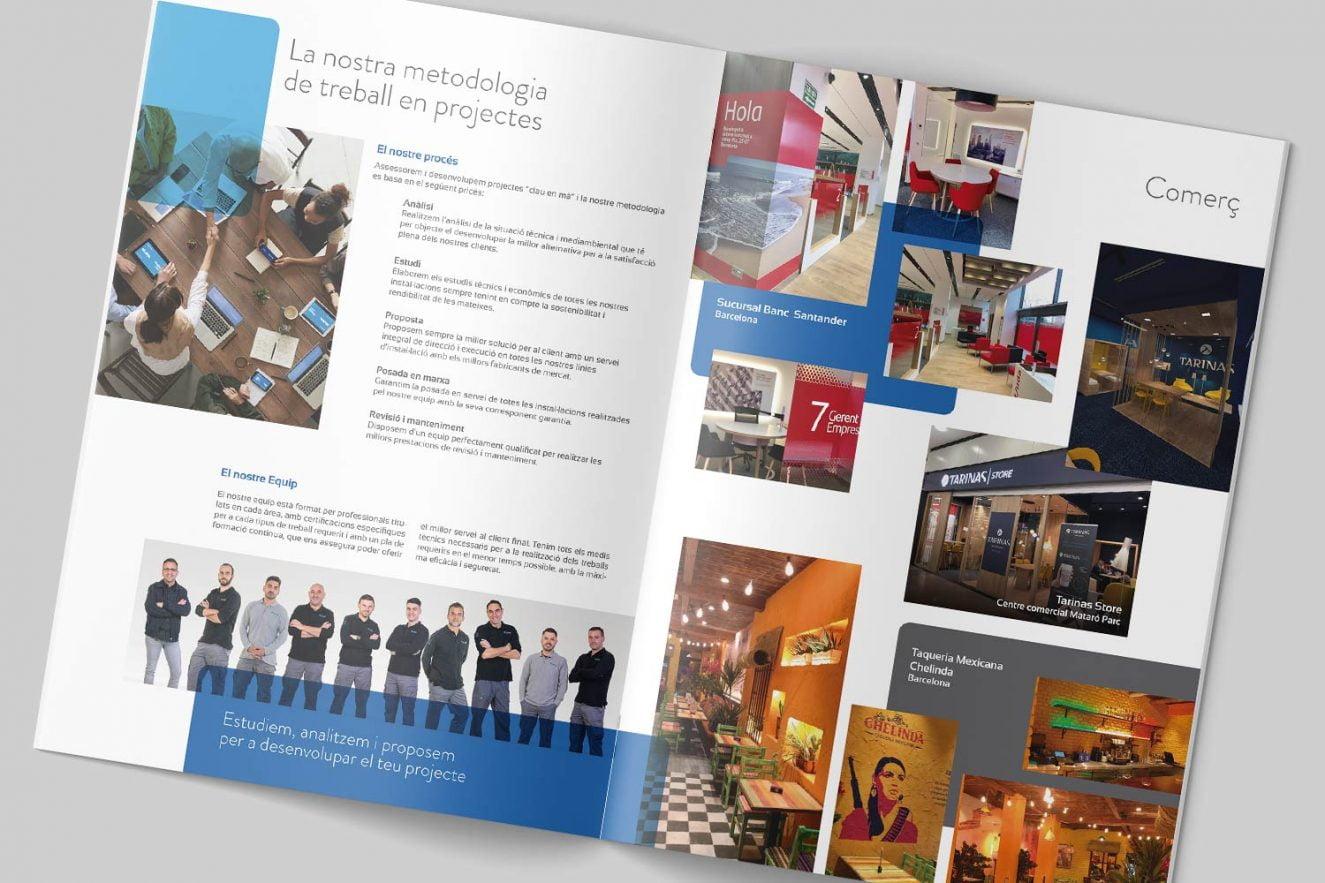 creacion de catalogo corporativo de servicios
