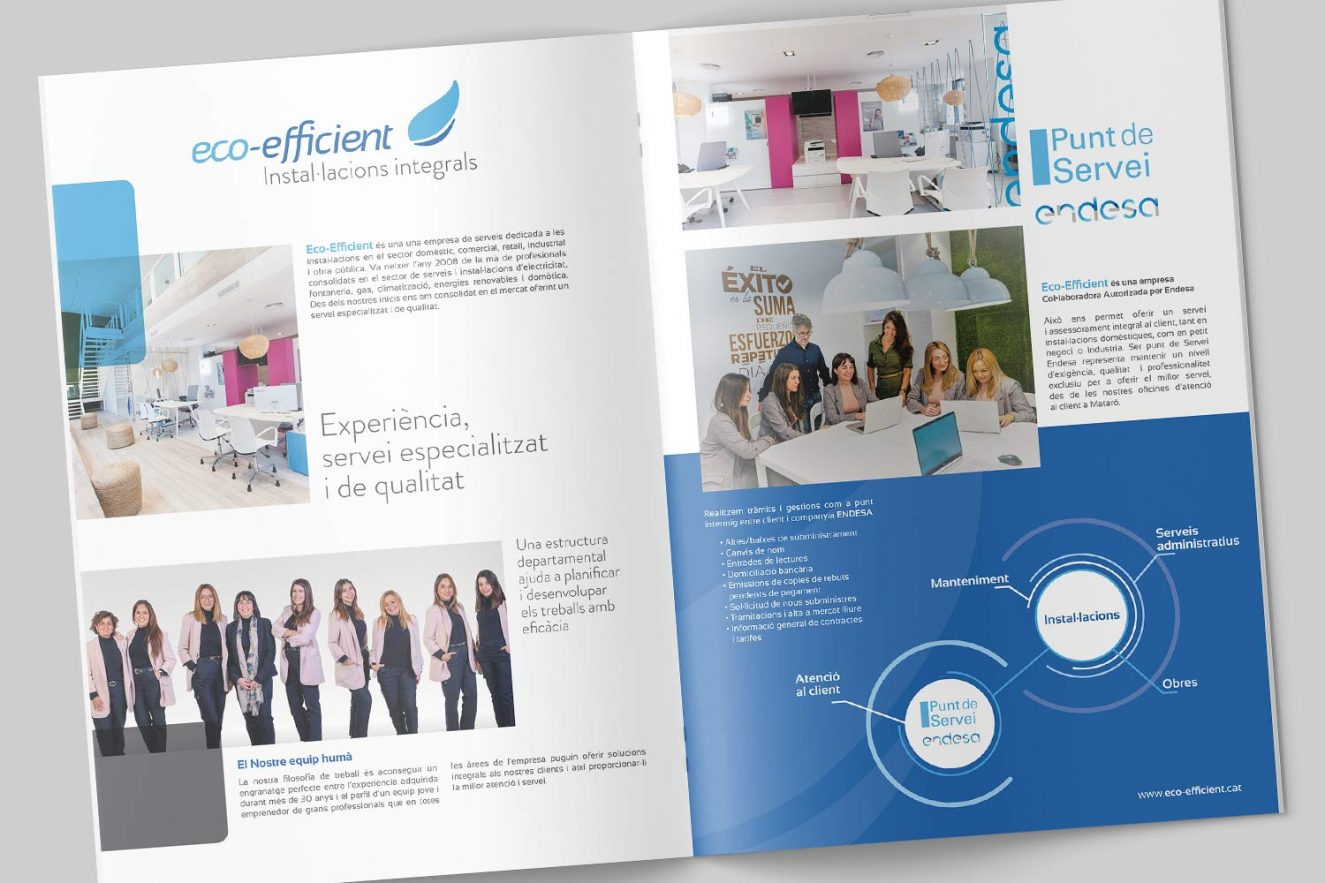 creacion de catalogo de servicios barcelona