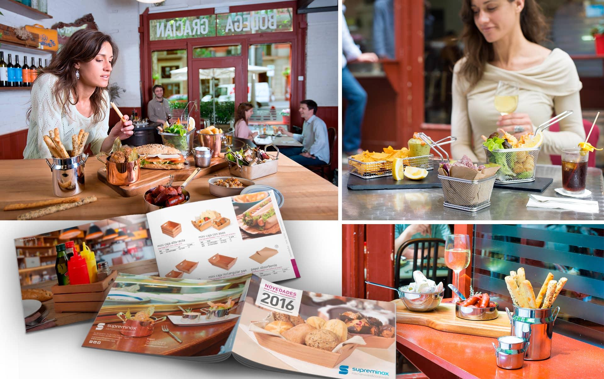 05 sesion de fotografia de producto en restaurante - Fotografía de producto en entorno real