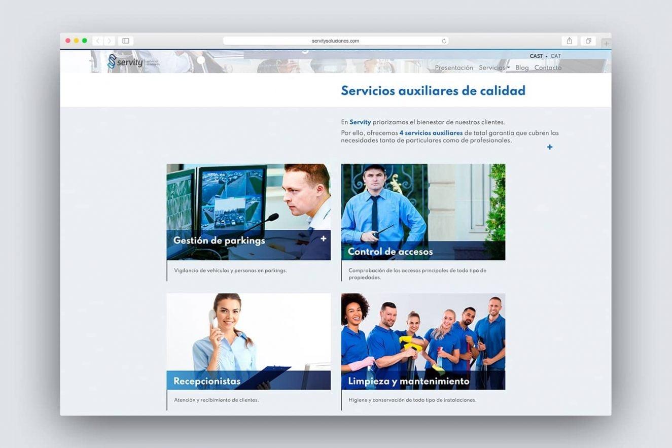 creacion de website corporativa barcelona