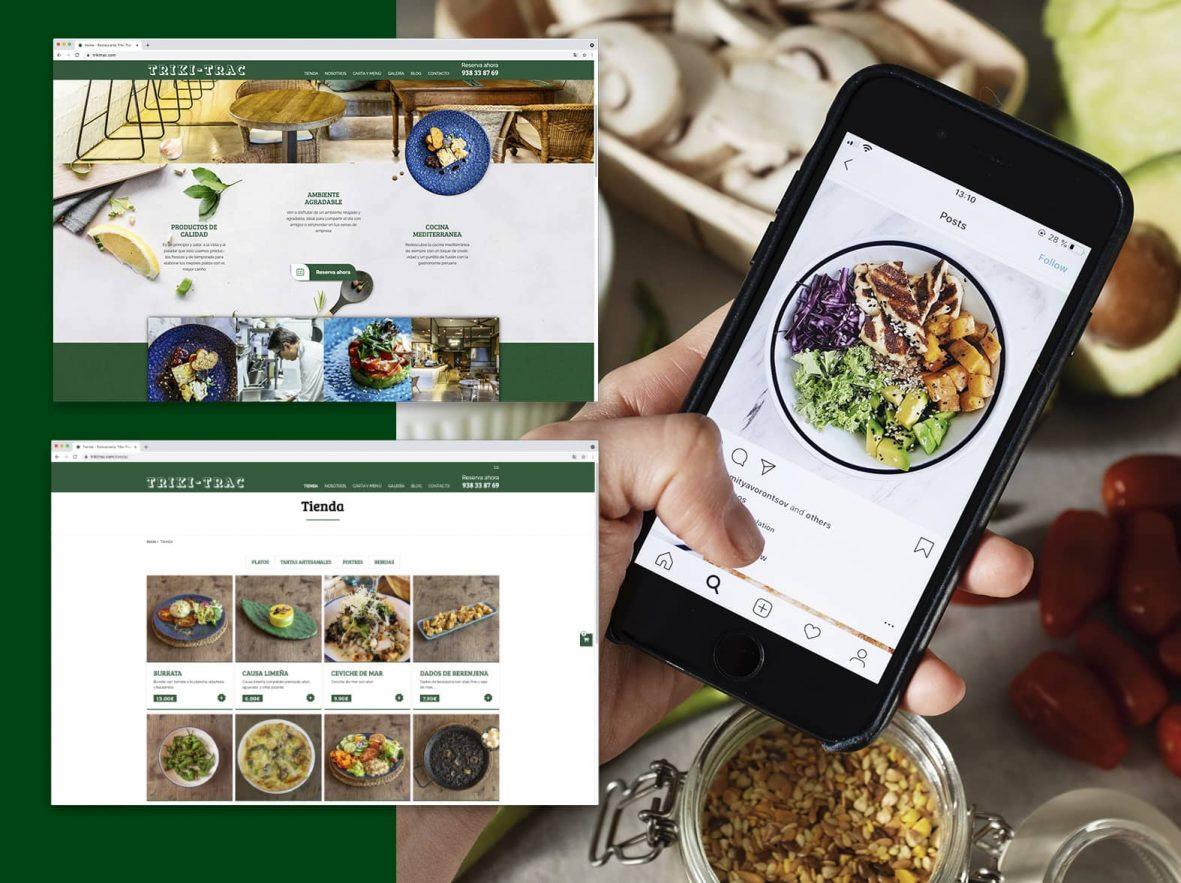 ecommerce para restaurante en Barcelona 1181x883 - Una buena digitalización de las marcas, entre la necesidad y el reto