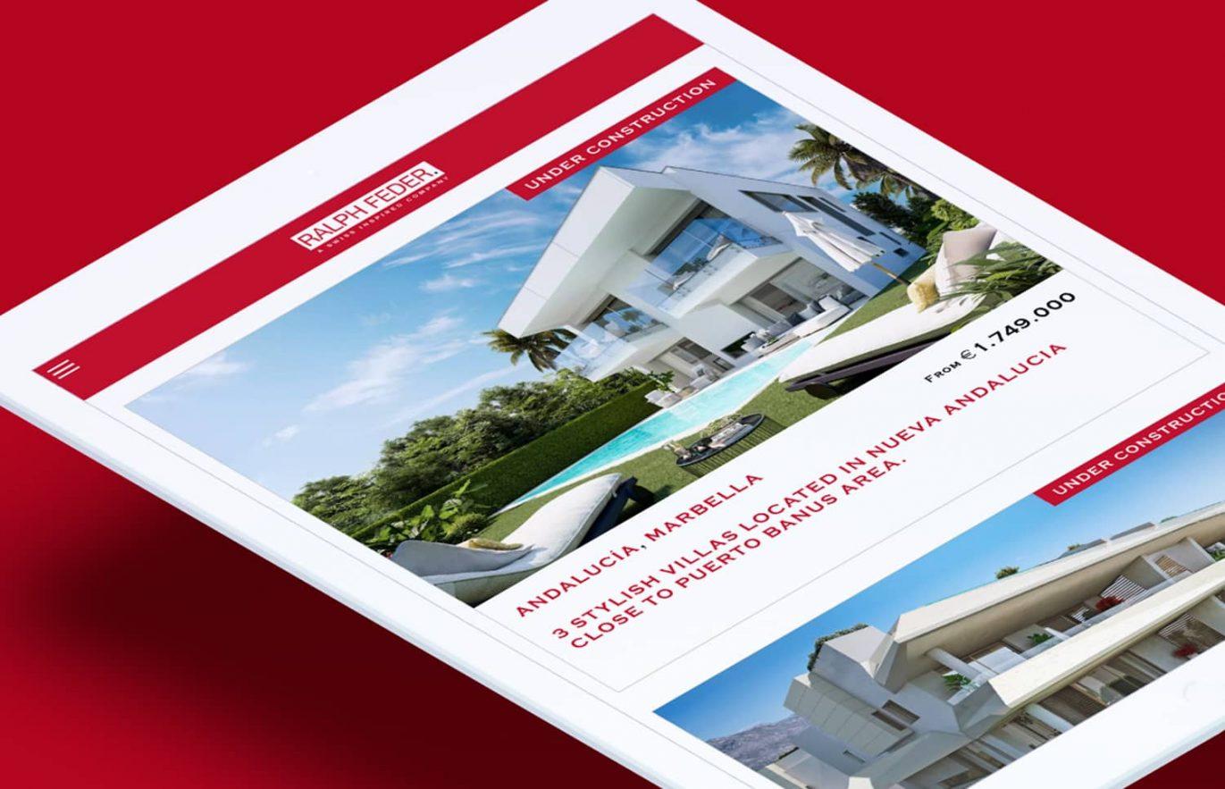 diseno de pagina web inmobiliaria barcelona