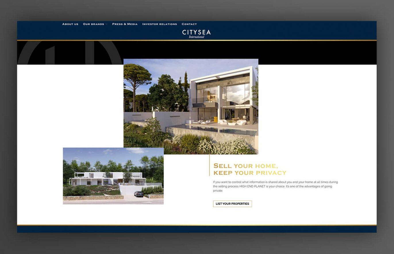 diseno de website para inmobiliaria