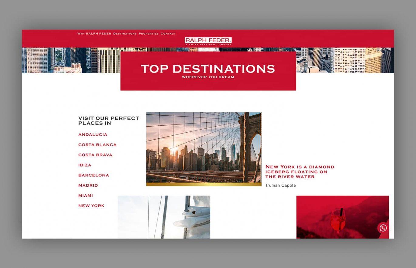 pagina web venta de casas de lujo